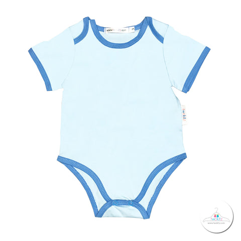 Daily Essential Romper - Blue