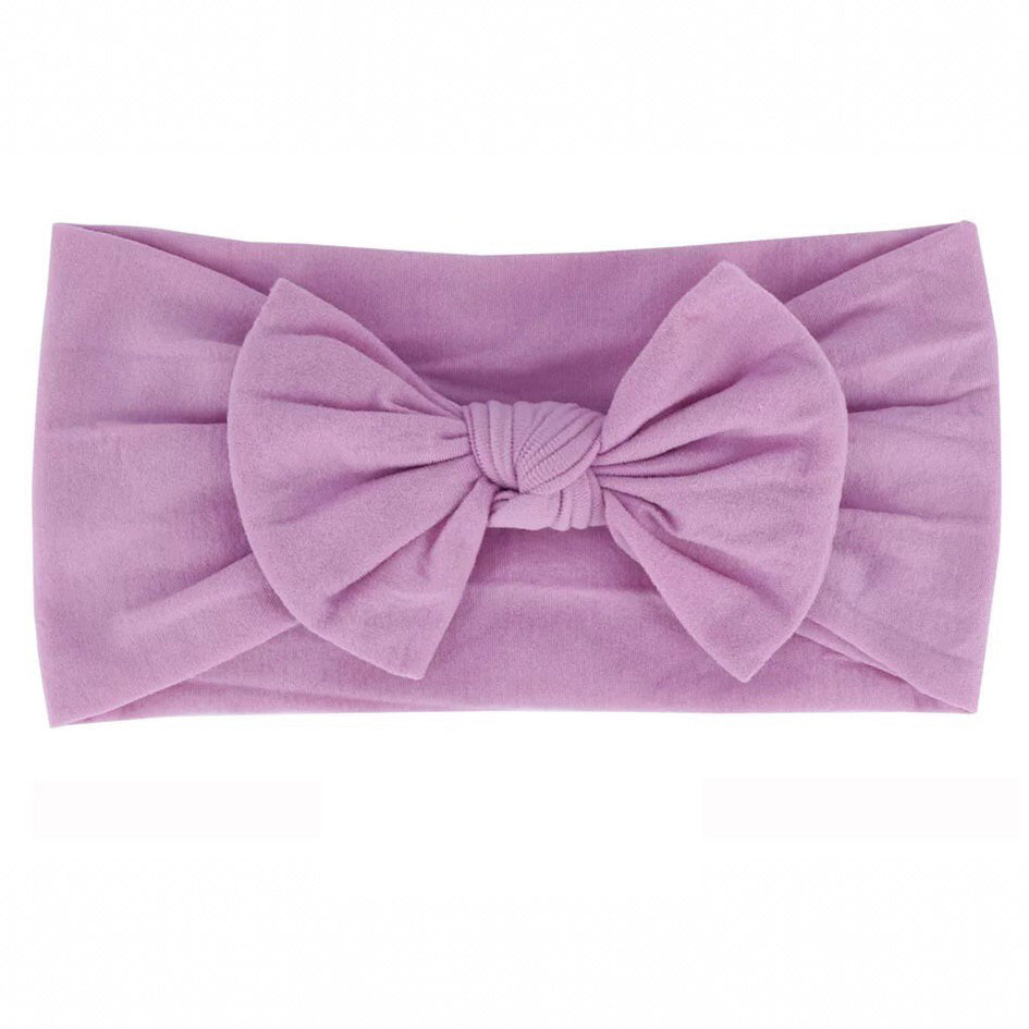 Purple Nylon Headband