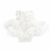 White Angel Lace Fluffy Romper