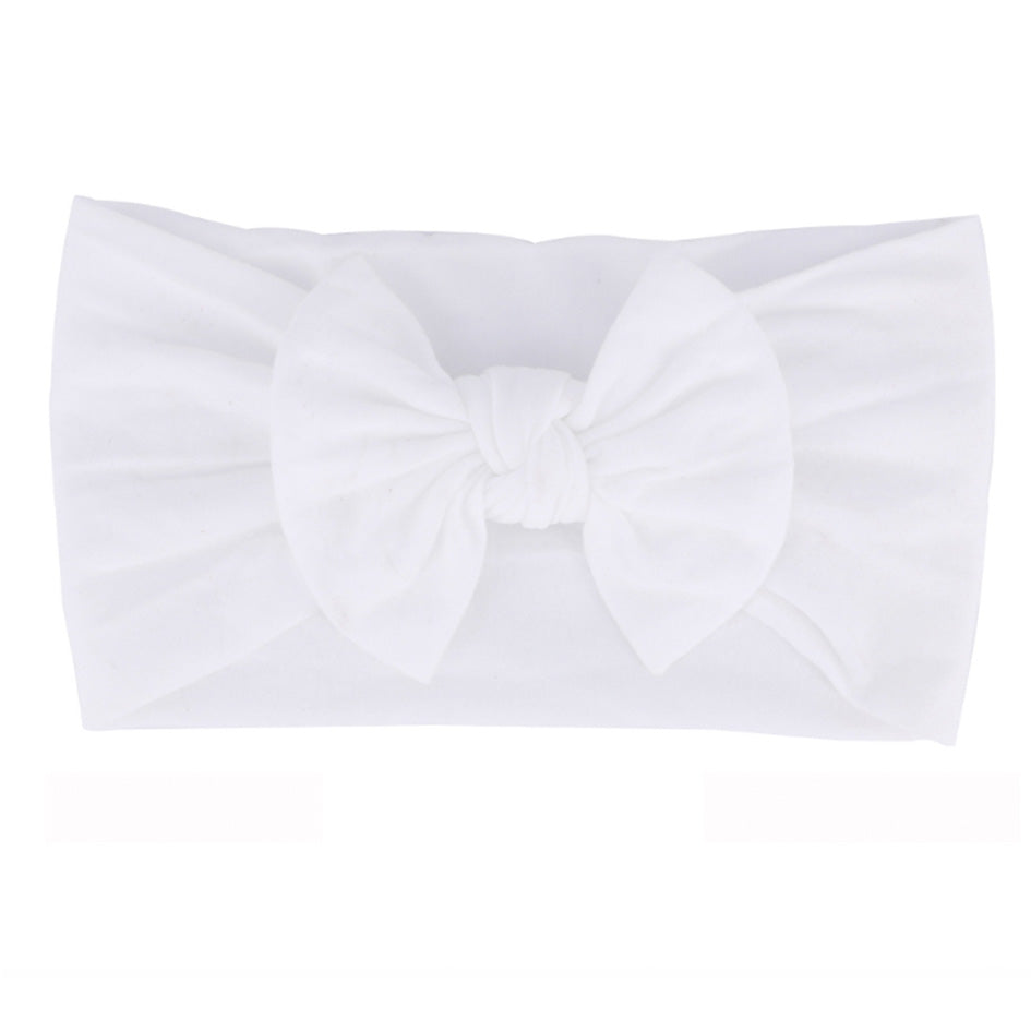 White Nylon Headband