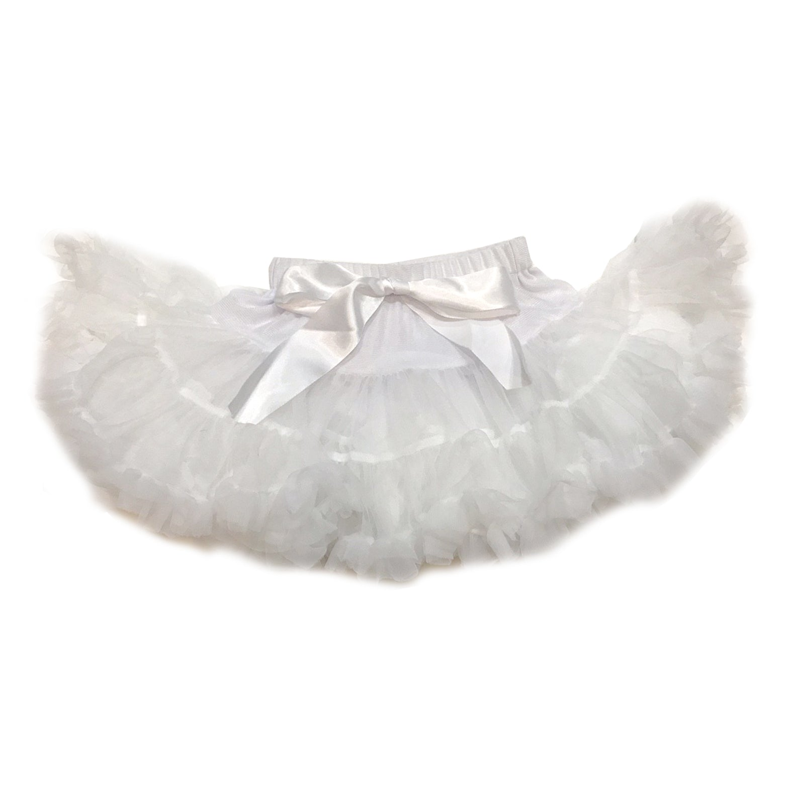 Angel White Tulle Skirt