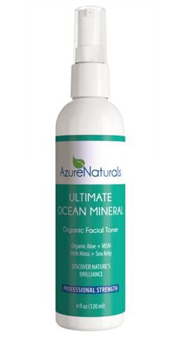 Ultimate Ocean Mineral Facial Cleanser and Toner Combo Set