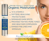 Sweet Orange Infused Organic 15% Vitamin C Facial Moisturizer