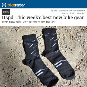 Cycling Socks make BikeRadar Best New Bike Gear List