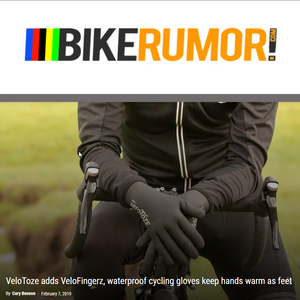 BikeRumor Takes Notice of Waterproof Cycling Glove Launch
