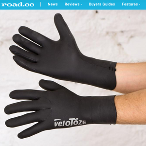 Road.cc Reviews veloToze Waterproof Cycling Gloves