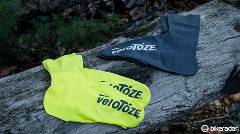 velotoze cycling shoe covers - bikeradar