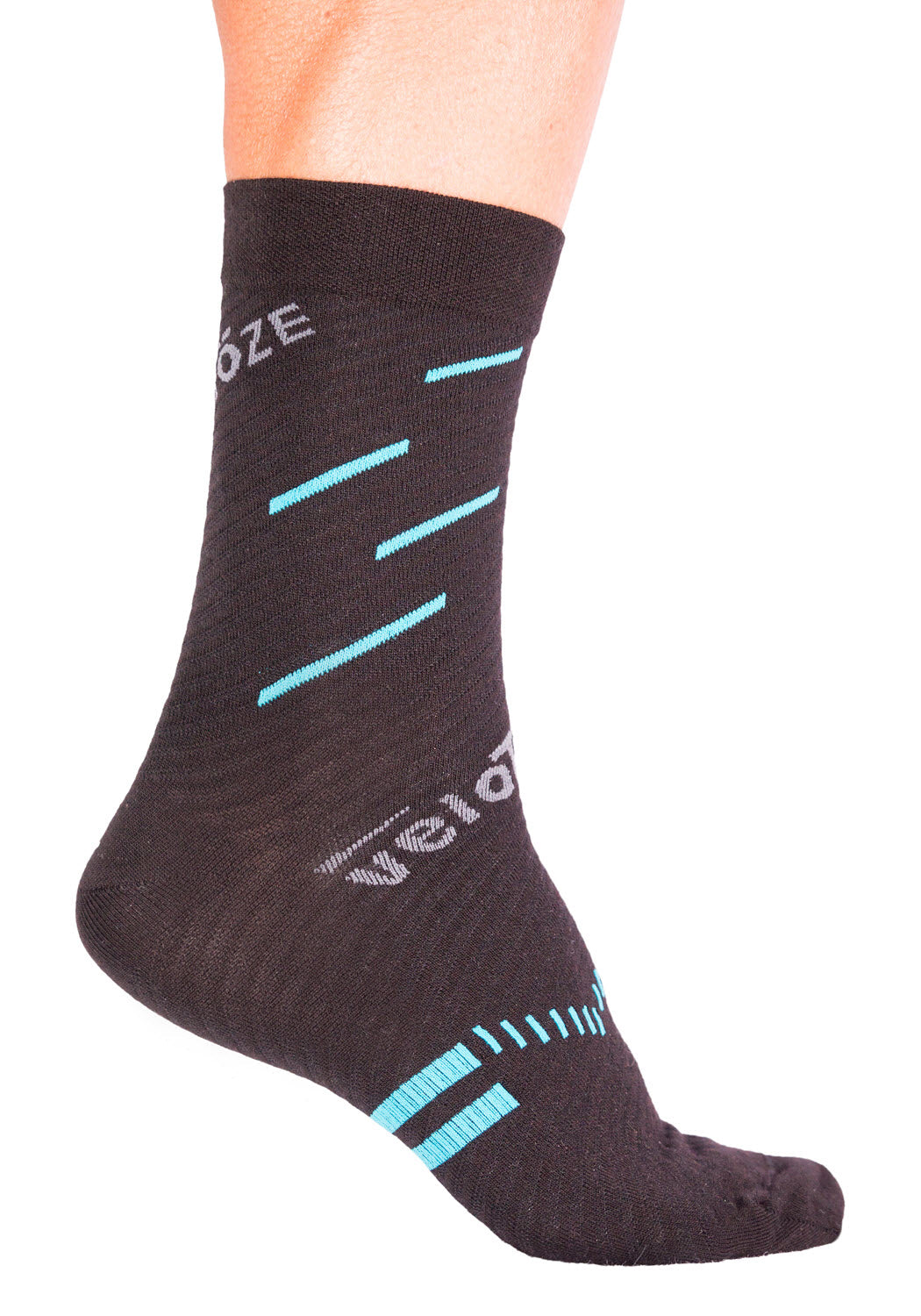 ea6cbe77d97a9 ... veloToze Cycling Sock - Active Compression with Merino Wool ...