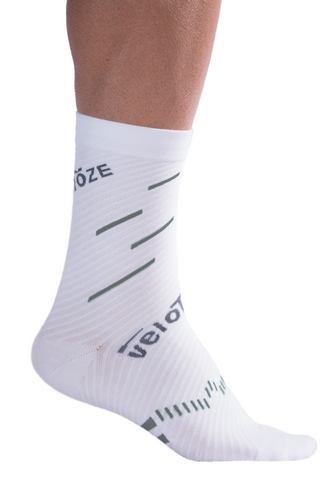 veloToze Cycling Sock - Active Compression with Coolmax