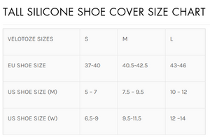 Tall Shoe Cover - Silicone with Snaps
