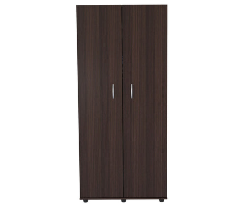 "Inval America Imported Wooden 66"" Bedroom Armoire - Espresso"
