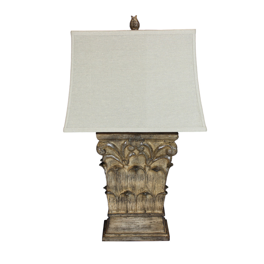 Urban Designs Grotto Sculpted Table Lamp