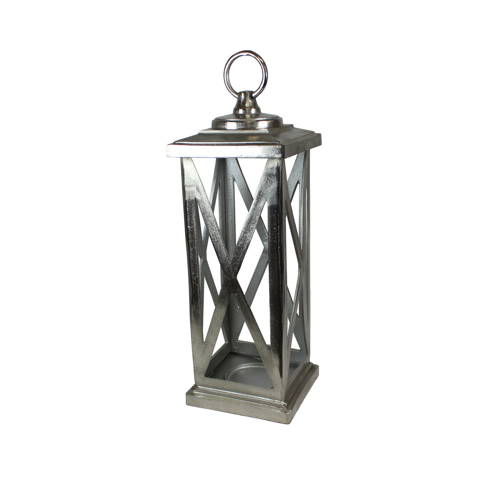 Urban Designs 30-Inch Large Aluminum Cast Candle Holder Lantern
