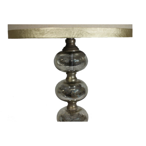 Urban Designs Newport 36-Inch Tall Handcrafted Mercury Glass Table Lamp