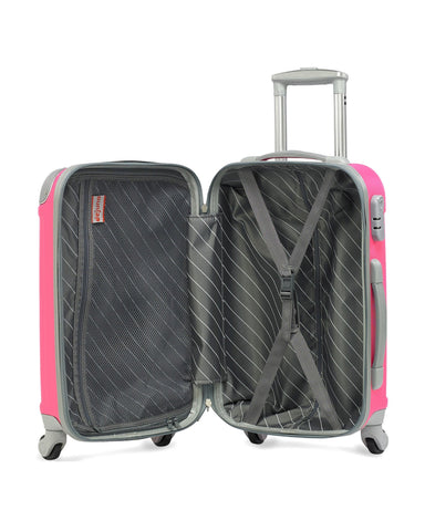 Dejuno Neato Series 3-Piece Hardside Spinner Combination Lock Luggage Set