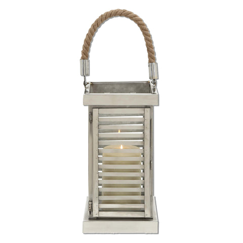 Deco 79 Steel Lantern, 7 by 25-Inch