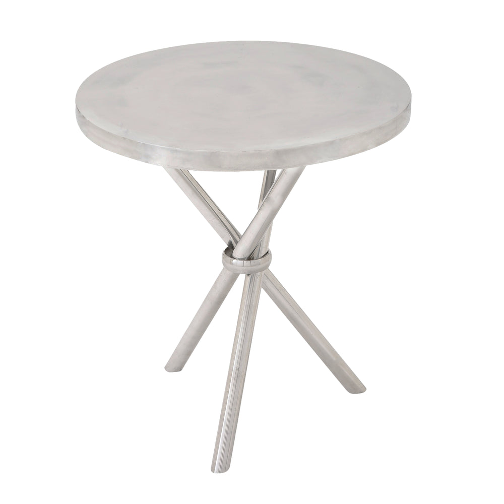 "Urban Design 24"" Classic Aluminum Accent Table"