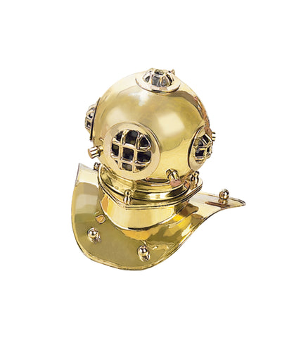 "Urban Designs Replica 8"" U.S. Navy Mark-V Brass Diving Helmet"