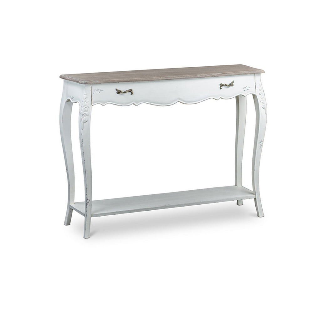 Urban Designs Bourbonnais Wood Traditional French Console Table