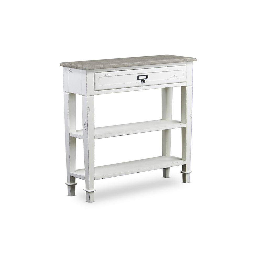 Urban Designs Dauphine Traditional French Accent Console Table 1 Drawer