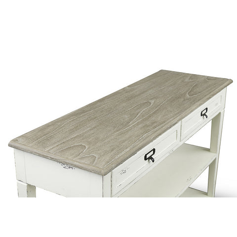 Urban Designs Dauphine Traditional French Accent Console Table
