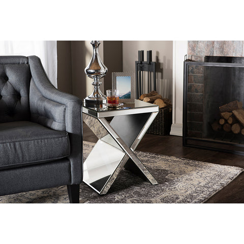 Urban Designs Morris Modern Accent Side Table
