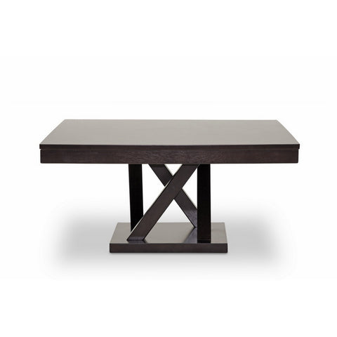 Urban Designs 17-Inch Everdon Dark Brown Modern Coffee Table