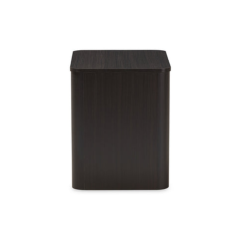 Urban Designs Carlingford Modern Espresso Brown Finished Wood Nightstand