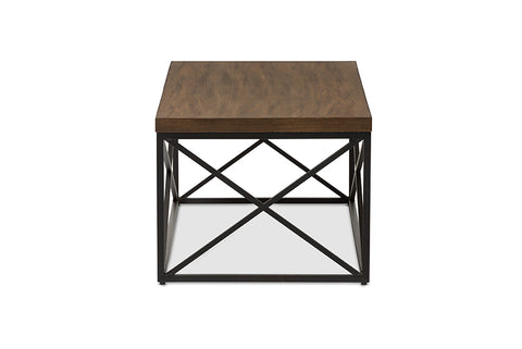 Urban Designs Holden Vintage Industrial Antique Bronze Coffee Cocktail Table