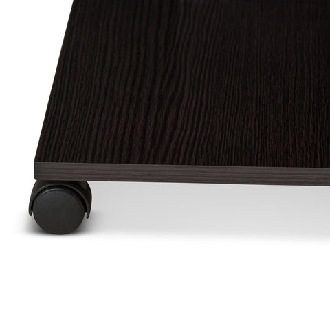 Urban Designs Suzanna Wooden Coffee Table in Wenge Brown Finish