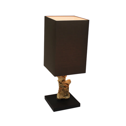 Light and Living Hank Textured Tree-Branch 24-Inch Table Lamp