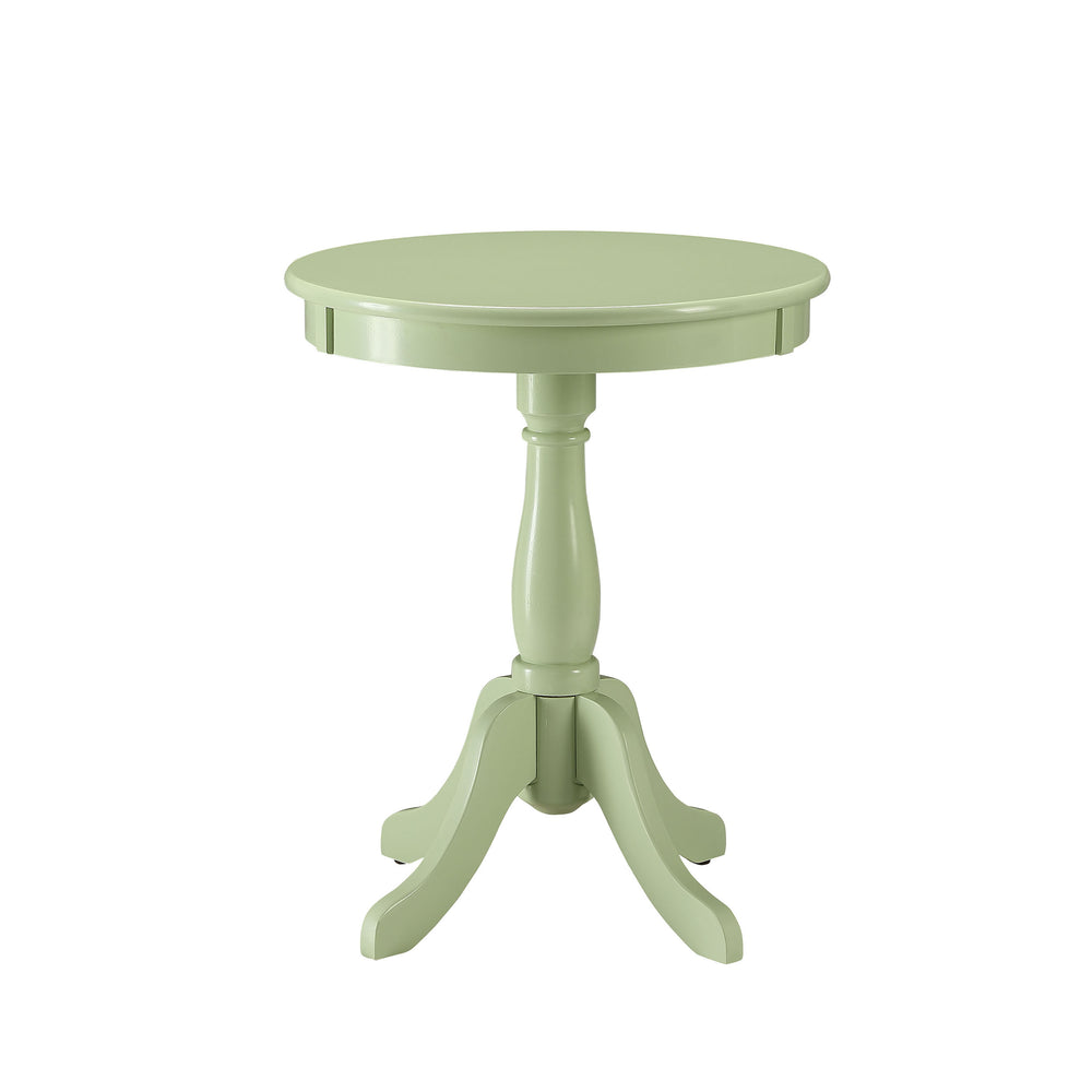 Urban Designs Alanis Wooden Accent Side Table - Light Green