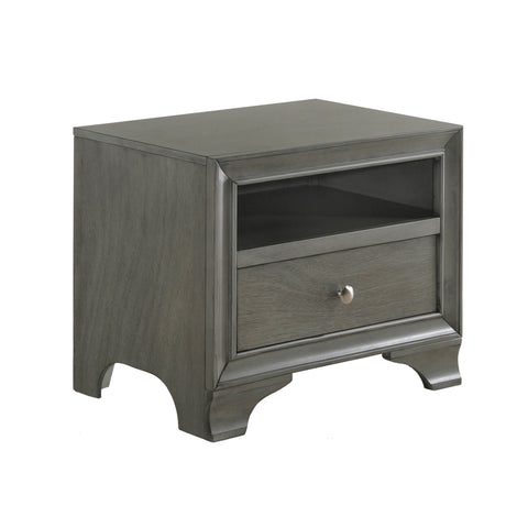 Urban Designs Brandon Collection 1-Drawer Nightstand
