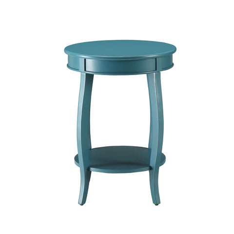 Urban Designs Portici Wooden Accent Side Table - Teal