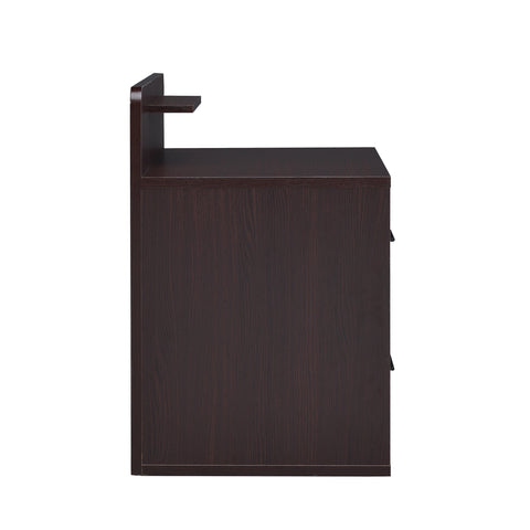 Urban Designs Couler 1-Drawer Nightstand - Espresso