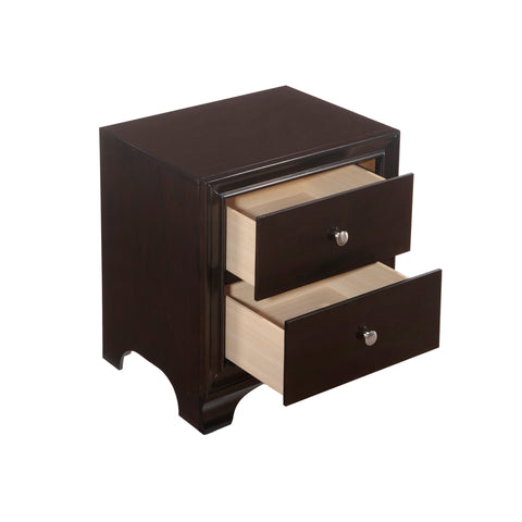 Urban Designs Brandon Collection 2-Drawer Nightstand