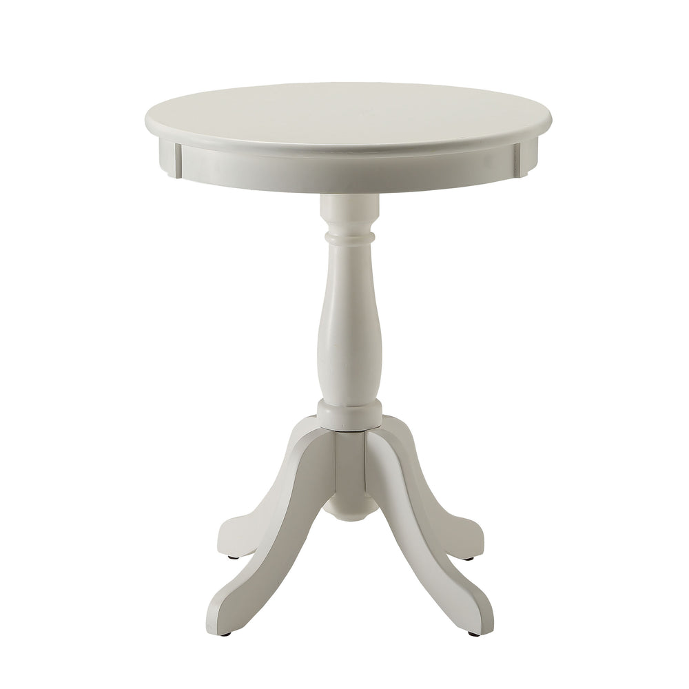Urban Designs Alanis Wooden Accent Side Table - White