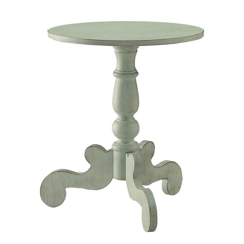 Urban Designs Gala Wooden Accent Side Table - Antique Green