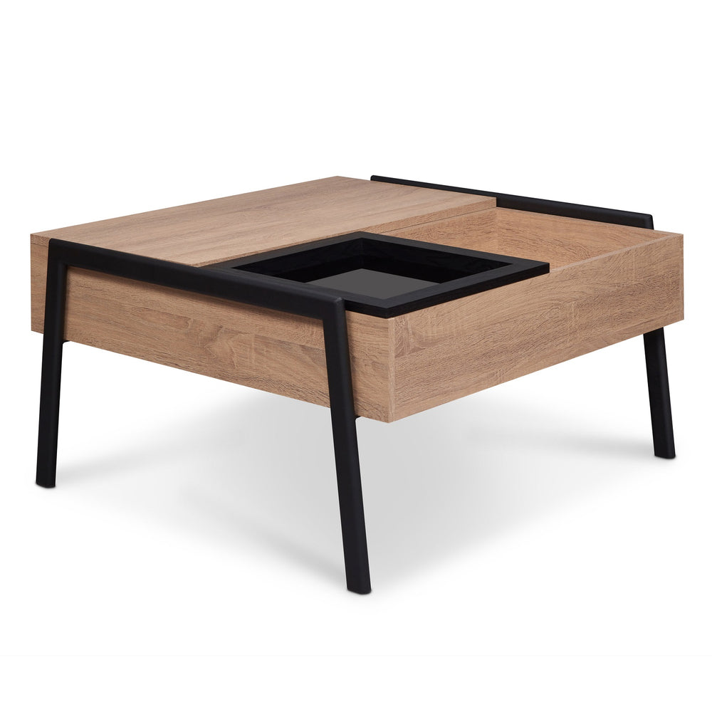 Urban Designs Lift Top Coffee Table With Tray
