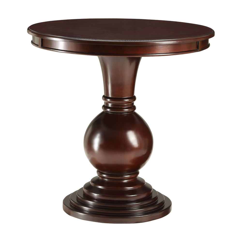 Urban Designs Callisto Wooden Accent Side Table - Espresso
