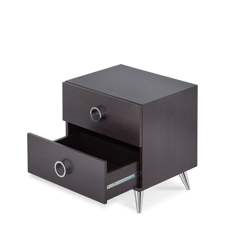 Urban Designs Vitalia Collection 2-Drawer Nightstand