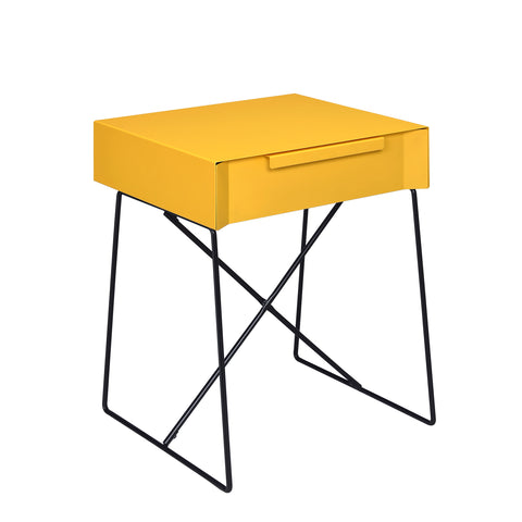 Urban Designs Elba Collection 1-Drawer End Table