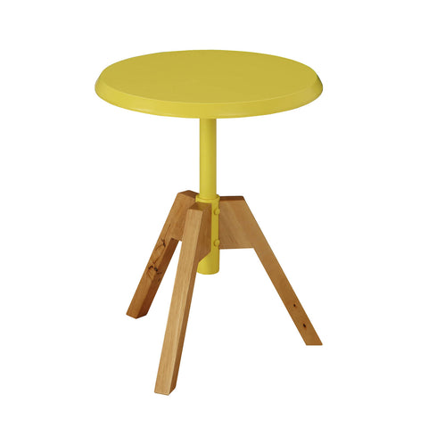 Urban Designs Levone Collection Tripod Wooden End Table