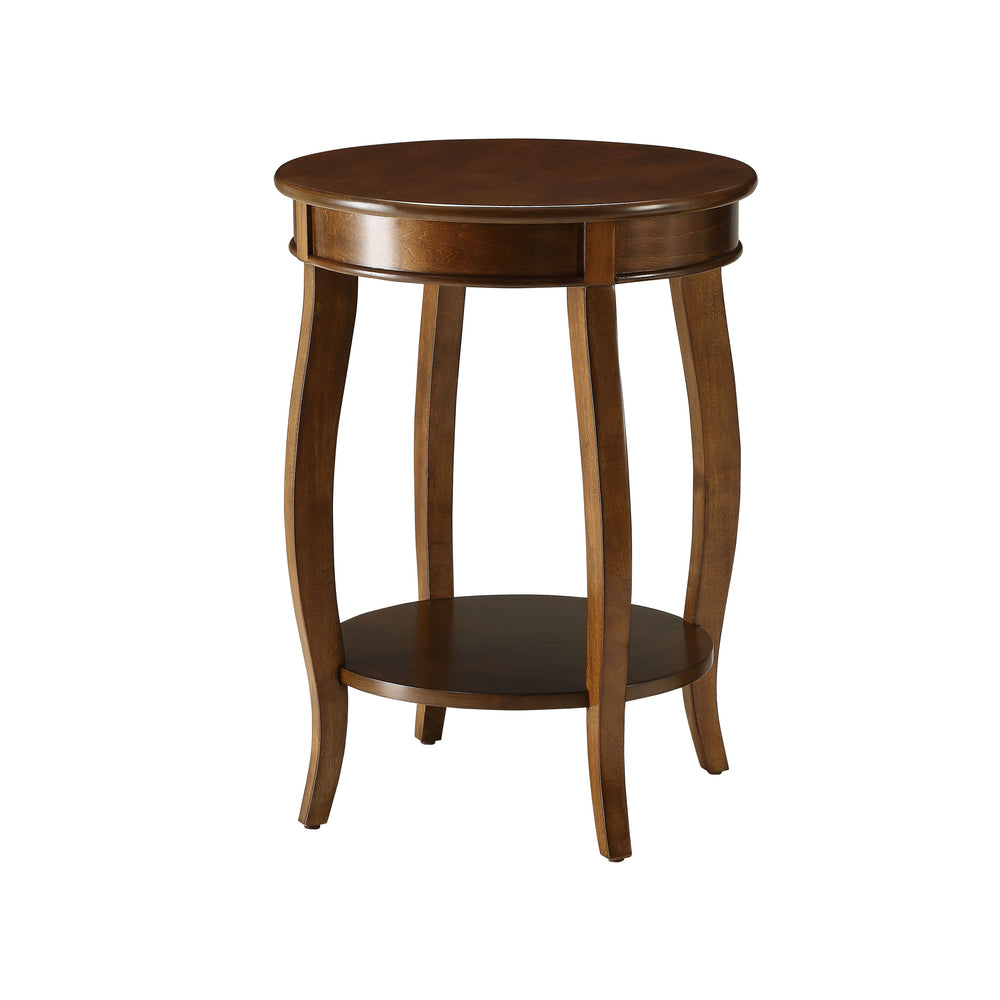 Urban Designs Portici Wooden Accent Side Table - Walnut