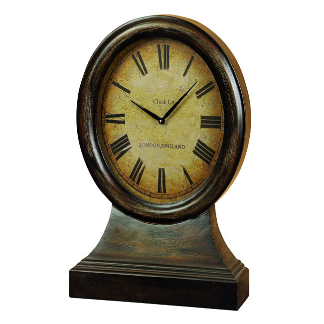 Urban Designs Antique Replica Just On Time London England Large Wood Table Clock