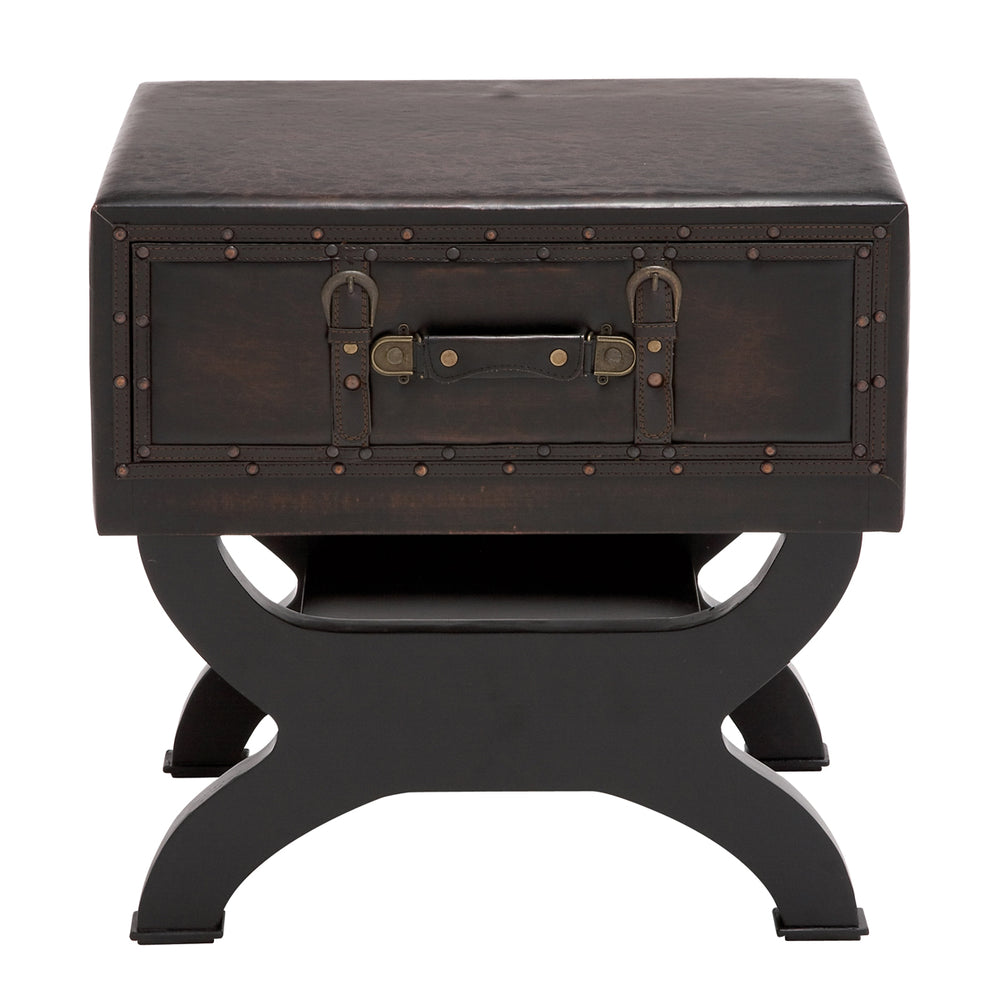 Urban Designs Olde London Suitcase Accent and End Table