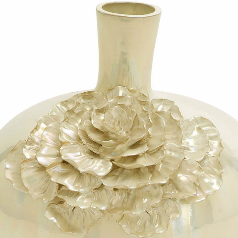 Urban Designs Artisan Handcrafted Ceramic Flower Accent Vase