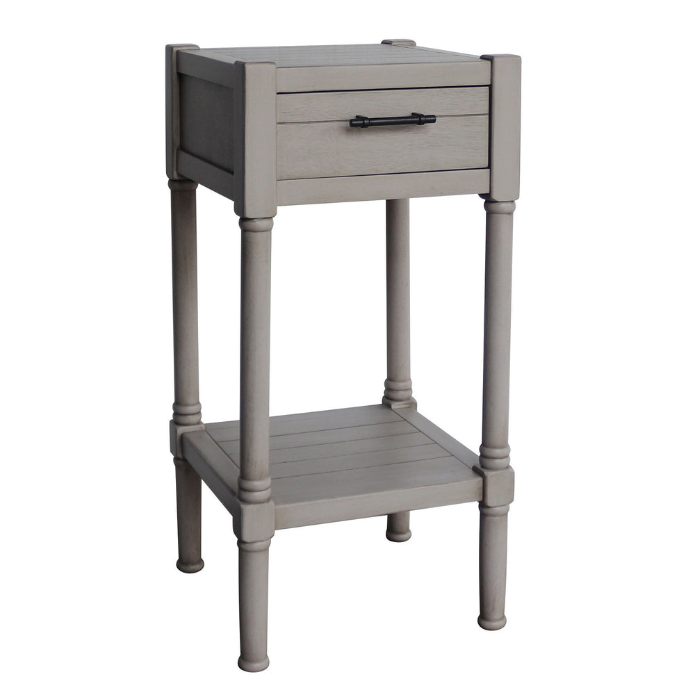 Urban Designs Vienna End Accent Table With Storage