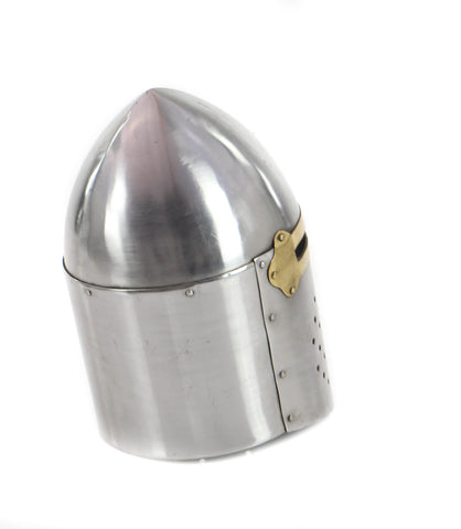 Urban Designs Antique Replica Full-Size Metal Crusader's Helmet