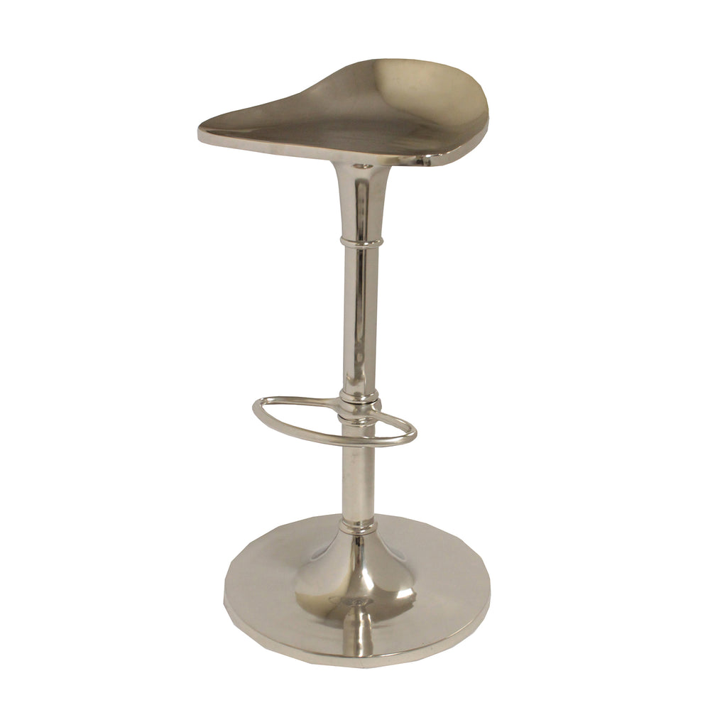 Urban Designs Chair Style Aluminum Bar Stool